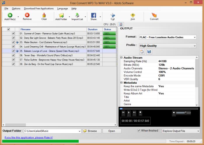 Free Convert MP3 To WAV