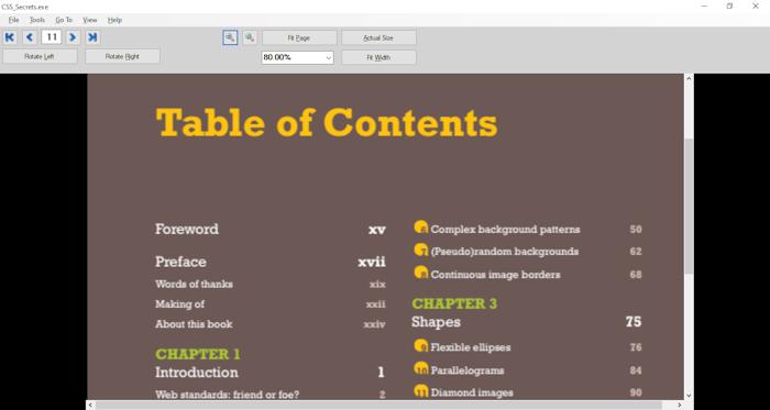 PDF to EXE Converter full screenshot