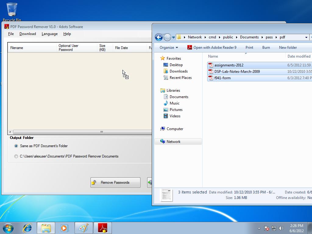 Instant PDF Password Remover - Download